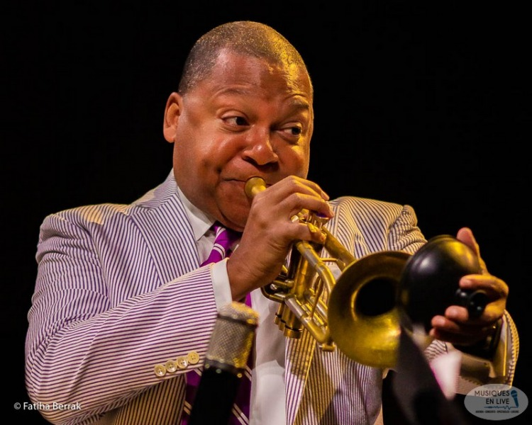 JIM 26 07 2019 - Wynton Marsalis plays Dizzy G &Charlie P. special guest Veronica Swift