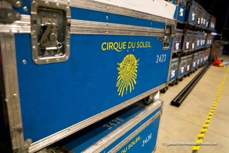 coulisses du cirque du soleil 2020