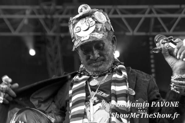 Lee Pery + Max Romeo + The Congos Free Music 2011