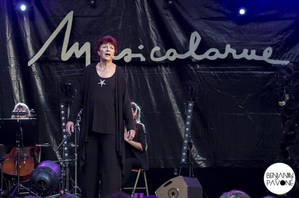 Anne Sylvestre - Musicalarue 2014 - Benjamin Pavone
