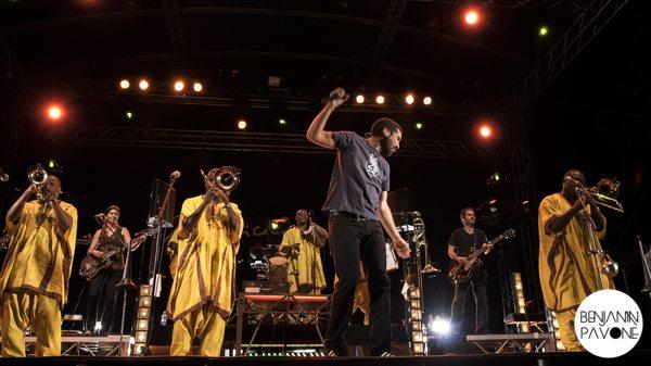 Ogres de Barback - Musicalarue 2014 - Benjamin Pavone