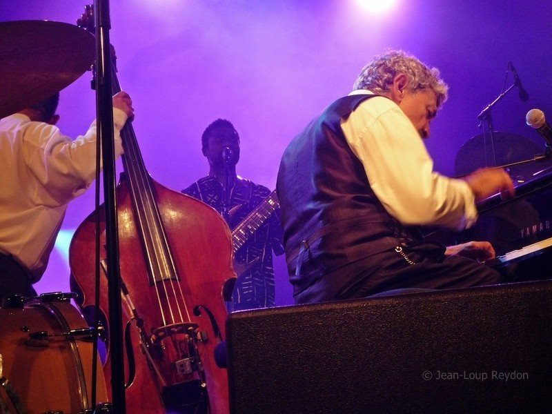Monty Alexander & The Full Monty Saint Emilion Jazz Festival  2013