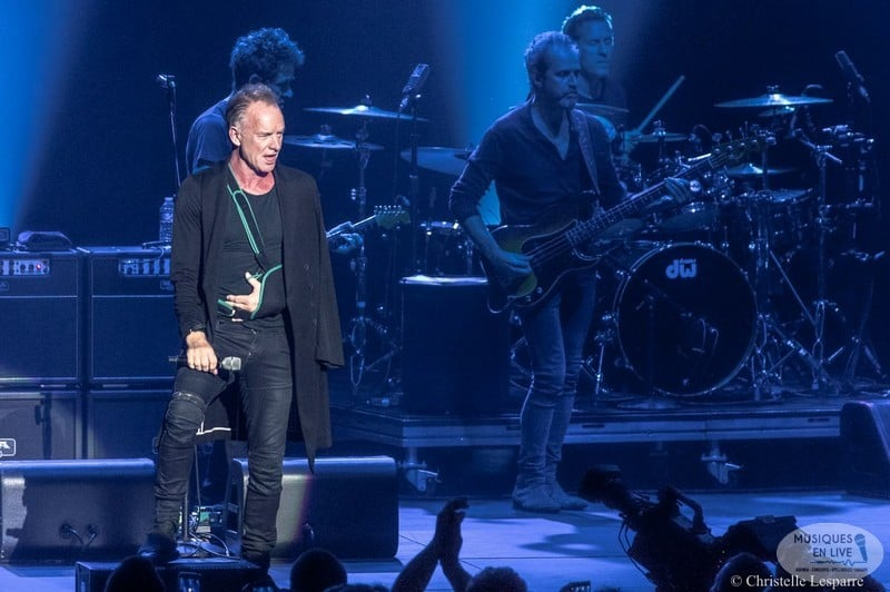 Sting - Arkea Arena - Photo : Christelle Lesparre