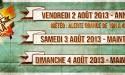 REGGAE SUN SKA FESTIVAL 2013 (16EME EDITION) – 2 AU 4 AOÛT A PAUILLAC