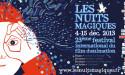 """23 EME FESTIVAL """"LES NUITS MAGIQUES"""" DU 4 AU 15 DECEMBRE 2013"""