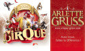 CIRQUE ARLETTE GRUSS « TOURNÉE 2016 » – 14 JANVIER > 10 FÉVRIER 2016 – PLACE DES QUINCONCES – BORDEAUX