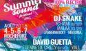 FESTIVAL SUMMER SOUND 2016 – VENDREDI 5 AOUT – DAVID GUETTA – ROCHEFORT