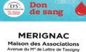 COLLECTE DE SANG – VENDREDI 31 MARS ET SAMEDI 1ER AVRIL 2017 – MERIGNAC