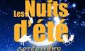 LES NUITS D'ETE – 6>8 SEPTEMBRE 2017 – ST-MEDARD-EN-JALLES (33)