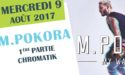 M. POKORA – MY WAY TOUR – MERCREDI 9 AOÛT 2017 – PARC DU CHÂTEAU DE LAAS (64)