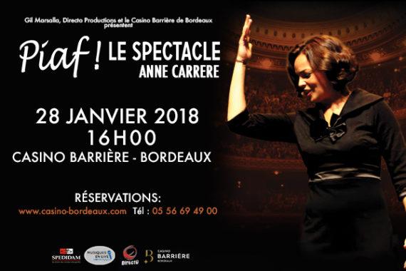 spectacle casino bordeaux 28 janvier 2019
