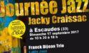 JOURNEE JAZZ HOMMAGE A JACKY CRAISSAC – DIMANCHE 17 SEPTEMBRE 2017 – ESCAUDES (33)