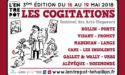 LES COGITATIONS – DU 16 AU 19 MAI 2018 – L'ENTREPOT DU HAILLAN
