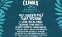 FESTIVAL CLIMAX 2017 – 3EME EDITION – PARC PALMER – 7 > 10 SEPTEMBRE – CENON