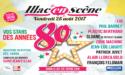FESTIVAL ILLAC EN SCÈNE – ANNÉES 80 – VENDREDI 25 AOÛT 2017 – ST JEAN D'ILLAC