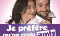 JE PREFERE QU'ON RESTE AMIS – SAMEDI 7 OCTOBRE 2017 – LE CUBE – VILLENAVE d'ORNON