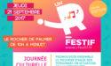 FESTIVAL UN R'FESTIF 2017- ORCHESTRE NATIONAL DE BARBÈS – JEUDI 21 SEPTEMBRE – LE ROCHER DE PALMER – CENON