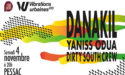 DANAKIL + YANISS ODUA + DIRTY SOUTH CREW – VIBRATIONS URBAINES – SAMEDI 4 NOVEMBRE 2017 – SALLE BELLEGRAVE – PESSAC