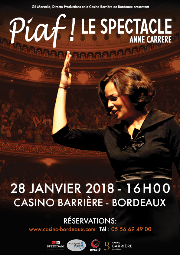 spectacle casino bordeaux 28 janvier 2019