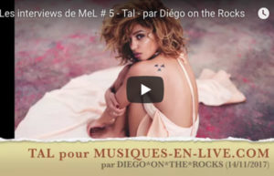 INTERVIEW VIDEO #5 - TAL @DIEGO ON THE ROCKS