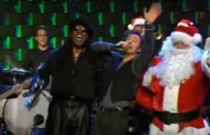 SANTA CLAUS IS COMING TO TOWN - MERRY CHRISTMAS BABY -  BRUCE SPRINGSTEEN