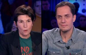 CHRISTINE ANGOT DANS ONPC - ÊTRE ARTISTE, C'EST TOUJOURS UN PLAN B...
