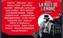 FESTIVAL LA NUIT DE L'ERDRE 2018 – 20EME EDITION – 29 JUIN > 1er JUILLET 2018 – NORT-SUR-ERDRE