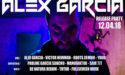 ALEX GARCIA – RELEASE PARTY – JEUDI 12 AVRIL 2018 – LES VIVRES DE L'ART