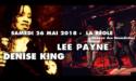 DENISE KING & LEE PAYNE – 26 MAI 2018 – ABBAYE DES BÉNÉDICTINS – LA RÉOLE (33)