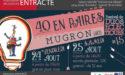 """FESTIVAL DE DUOS ÉCLECTIQUES """"40 EN PAIRES"""" – 24 > 25 AOÛT 2018 – MUGRON (LANDES)"""
