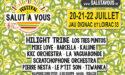 FESTIVAL SALUT À VOUS – 20 > 22 JUILLET 2018 – JAU DIGNAC ET LOIRAC (33)