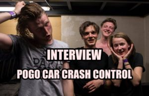INTERVIEW VIDEO #28 - POGO CAR CRASH CONTROL @ DIEGO ON THE ROCKS @HUGO