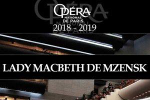 LADY MACBETH DE MZENSK - DIRECT OPÉRA BASTILLE - 16 AVRIL 2019 - UGC TALENCE