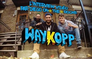 INTERVIEW VIDEO #29 - WAYKOPP @ DIEGO ON THE ROCKS
