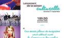 LANCEMENT DE LA SAISON CULTURELLE – ESPACE CULTUREL LUCIEN MOUNAIX – VENDREDI 21 SEPTEMBRE 2018 – BIGANOS