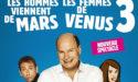 MARS ET VENUS 3 –  MARDI 19 FÉVRIER 2019 –  THÉÂTRE FEMINA – BORDEAUX