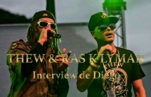 INTERVIEW THEW & RAS K'LYMAN @ DIEGO ON THE ROCKS
