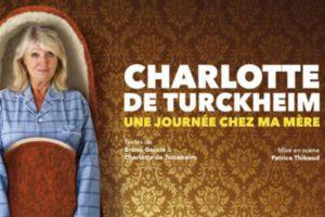 CHARLOTTE DE TURCKHEIM - THÉÂTRE FEMINA - JEUDI 6 DECEMBRE 2018 - BORDEAUX