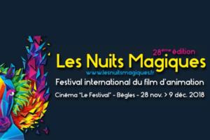 """FESTIVAL LES NUITS MAGIQUES - CINÉMA """"LE FESTIVAL""""- DU 28 NOVEMMBRE AU 09 DÉCEMBRE 2018 - BÈGLES"""