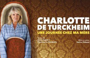 CHARLOTTE DE TURCKHEIM - THÉÂTRE FÉMINA - JEUDI 06 DÉCEMBRE 2018 - BORDEAUX
