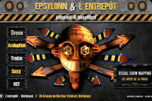 EPSYLONN SOUND SYSTEM - L'ENTREPÔT LE CLUB - VENDREDI 16 NOVEMBRE 2018- BORDEAUX