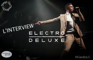 INTERVIEW VIDEO #36 - ELECTRO DELUXE @ DIEGO ON THE ROCKS @ CAROLYN