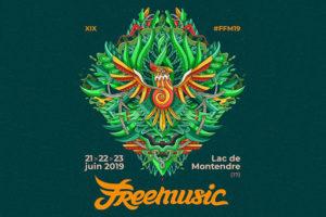 FESTIVAL FREE MUSIC #19 - 21 > 23 JUIN 2019  - LAC DE MONTENDRE (17)