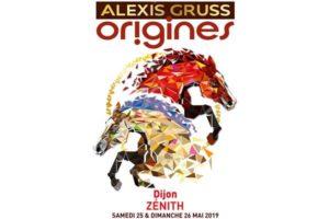 ALEXIS GRUSS « Origines » -  25 & 26 MAI 2019 - ZÉNITH - DIJON