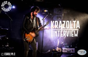INTERVIEW MANUSCRITE #19 - KRAZOLTA @ DIEGO ON THE ROCKS  @ CAROLYN