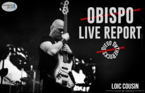OBISPO - CENON #LIVE REPORT @ DIEGO ON THE ROCKS  @ LOIC COUSIN