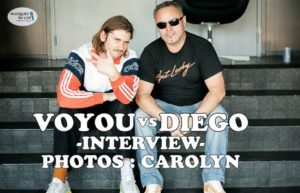 INTERVIEW MANUSCRITE #24 - VOYOU @ DIEGO ON THE ROCKS  @ CAROLYN