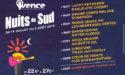 FESTIVAL LES NUITS DU SUD #22  – 19 JUILLET > 2 AOÛT 2019 – VENCE (06)