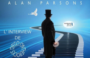 INTERVIEW MANUSCRITE #30 - ALAN PARSONS @ DIEGO ON THE ROCKS