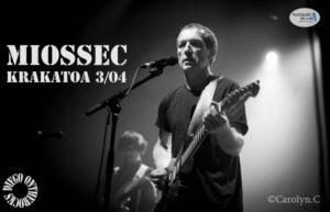 MIOSSEC - MERIGNAC #LIVE REPORT @ DIEGO ON THE ROCKS  @ CAROLYN